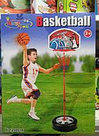 Детская басетбольная стойка с кольцом и мячем 20881х