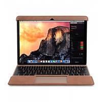 """Кожаный Чехол Melkco Easy-Fit Permium Nubuck для Apple MacBook Air 11.6"""" коричневый"""