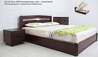 Кровать полуторная Каролина с подъемным механизмом (бук)