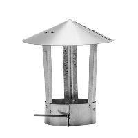 Зонт вентиляционный 150 нержавейка