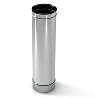 Труба вентиляционая 1м,150мм нержавейка