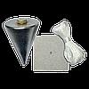 Отвес 100г каменщика с пластиной для крепления FAVORIT