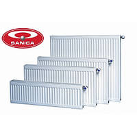 Стальной панельный радиатор Sanica 300*2400 22 тип