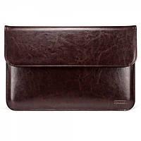 "Чехол Icarer для MacBook Air 13"" Genuine leather case coffee"