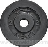 Диск стальной обрезиненный 2 кг