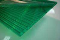 Поликарбонат POLYNEX зелёный  4мм