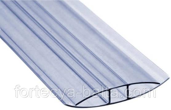 Профиль соединительный для поликарбоната H 10мм