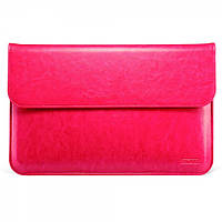 "Чехол для MacBook Air 11"" Genuine leather case pink"
