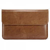 "Чехол Icarer для MacBook Air 13"" Genuine leather case brown, фото 1"