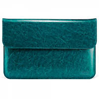 """Чехол Icarer для MacBook Air 13"""" Genuine leather case blue"""
