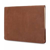 """Кожаный Чехол Melkco Easy-Fit Permium Nubuck для Apple MacBook Air 13"""" коричневый"""