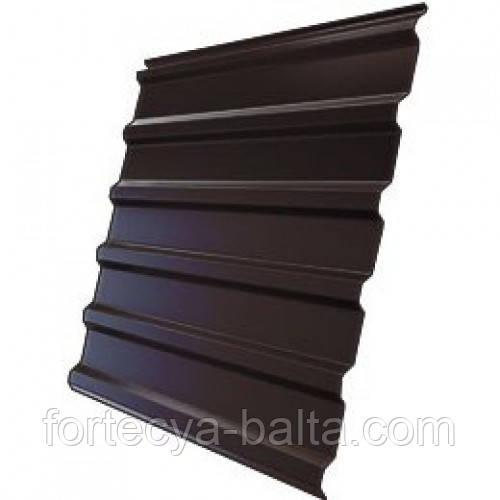 Профнастил коричневый 0,4 1,17*1,50 цена за лист