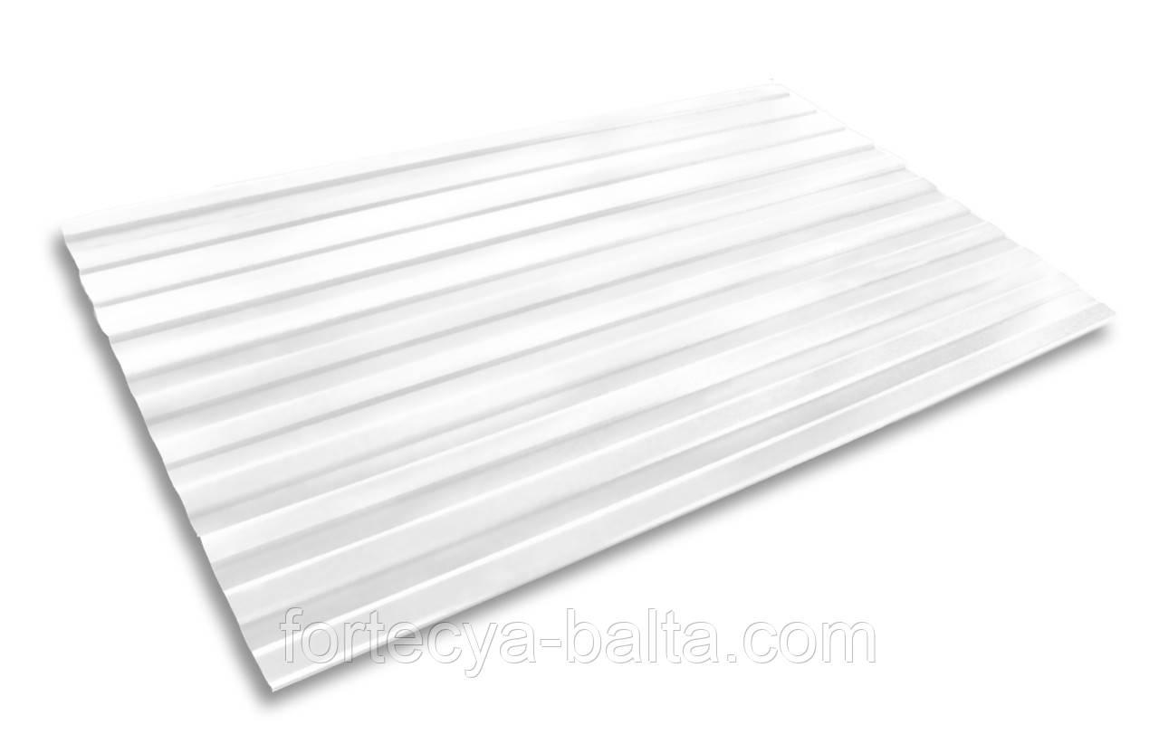 Профнастил белый 0,4 1,17*2,00 цена за лист