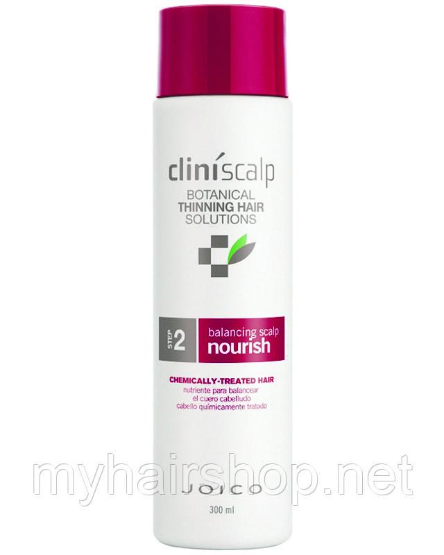 Кондиционер питательный против выпадения волос для окр волос Joico Cliniscalp Balancing Scalp Nourish 300 мл