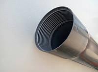 Обсадная труба 125 стенка 5,2 мм серая