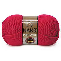 Nako Pure Wool - 6814 красный