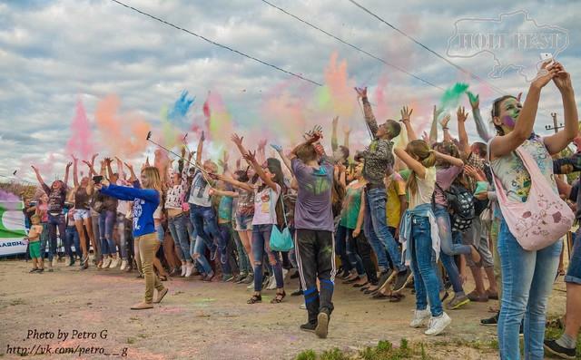 Holi Fest відвідав Слов'янськ!