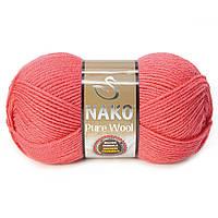 Nako Pure Wool - 11208 коралловый