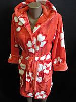 Теплые махровые халаты, фото 1