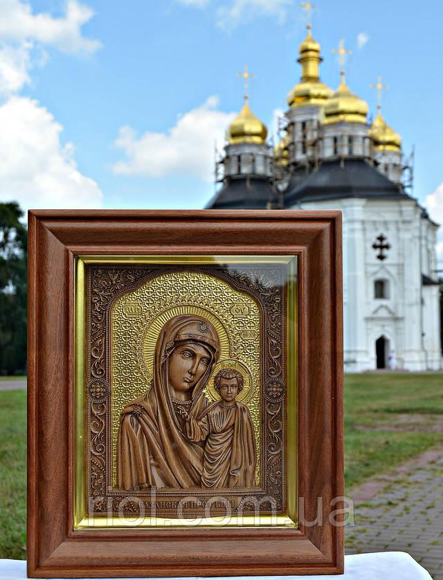 икона божьей матери казанская сусальное езолото