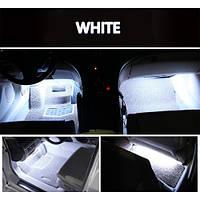 Подсветка салона автомобиля Led 4х9 (белая)