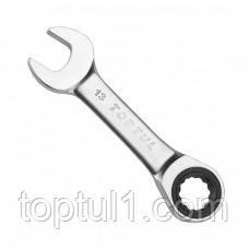 Ключ комбинированный TOPTUL AOAB1818  18 мм с трещоткой укороченный