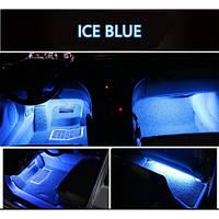 Подсветка салона автомобиля Led 4х9 (синяя)
