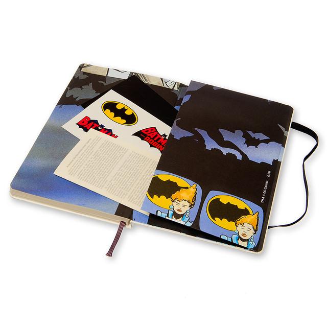 Блокнот Moleskine Batman (Бэтмен) | Средний Белый в Линейку