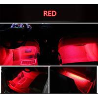 Подсветка салона автомобиля Led 4х9 (красная)
