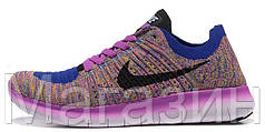 Женские кроссовки Nike Free Run Flyknit 5.0 спортивные Найк Фри Ран для бега