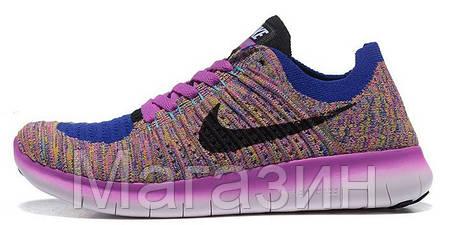 4515ef70 Женские кроссовки Nike Free Run Flyknit 5.0 спортивные Найк Фри Ран для  бега, фото 2