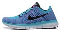 Женские кроссовки Nike Free Run Flyknit 5.0, найк фри ран
