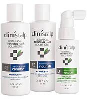 Система интенсивная для редеющих натуральных волос Joico Cliniscalp Trial Kit for Natural Hair Advanced Stage