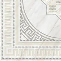 Декор (пол) Golden Tile Каррара белый 400х400