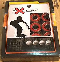 Комплект подшипников Explore для роликовых коньков, самокатов и скейтбордов.