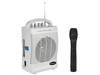 Микрофон с колонкой усилителем аккумулятор с SD и USB