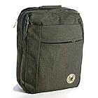 Сумка-рюкзак Fashion трансформер 14 л зеленый 50164, фото 4