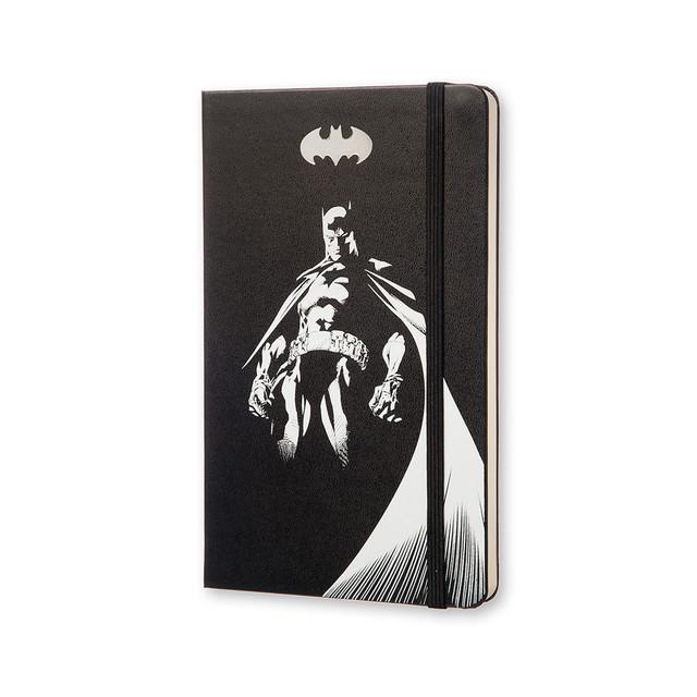 Блокнот Moleskine Batman (Бэтмен) | Средний Чёрный с Чистыми листами