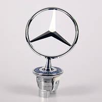 Новый Оригинал Звезда Эмблема на капот Mercedes