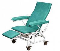 Кресло донора (для забора крови) KBL-12 от Proma Reha. Обивка песочного цвета