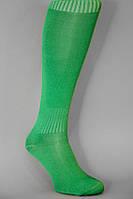 Гетры футбольные зеленые однотонные