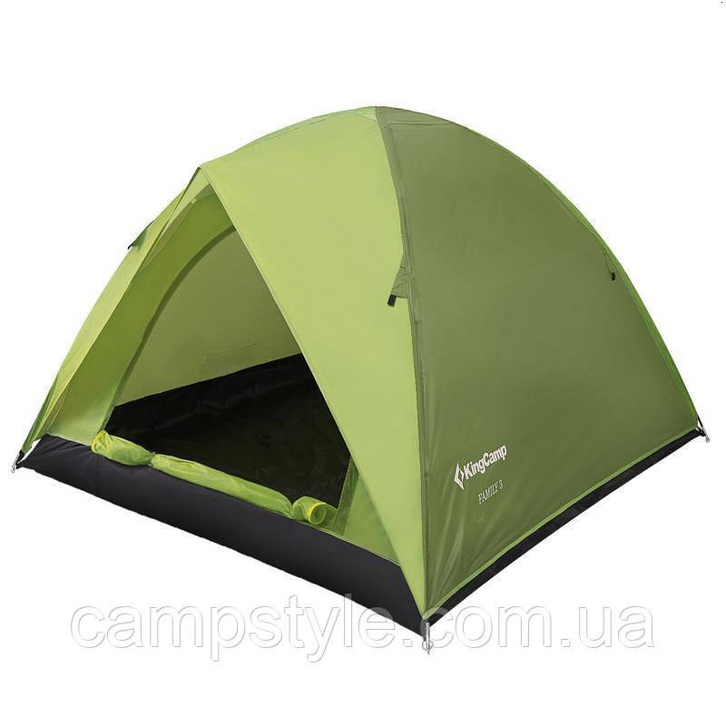 Трехмесная туристическая палатка KingCamp Family 3 KT3073