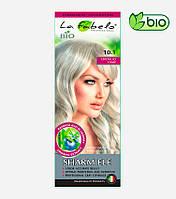 Крем-краска для волос био 50мл тон 10.1 пепельный блонд La Fabelo Professional