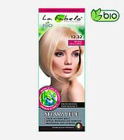 Крем-краска для волос био 50мл тон 12.32 платиновый пепельный блонд La Fabelo Professional