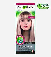 Крем-краска для волос био 50мл тон 9.01 натуральный светло-русый La Fabelo Professional