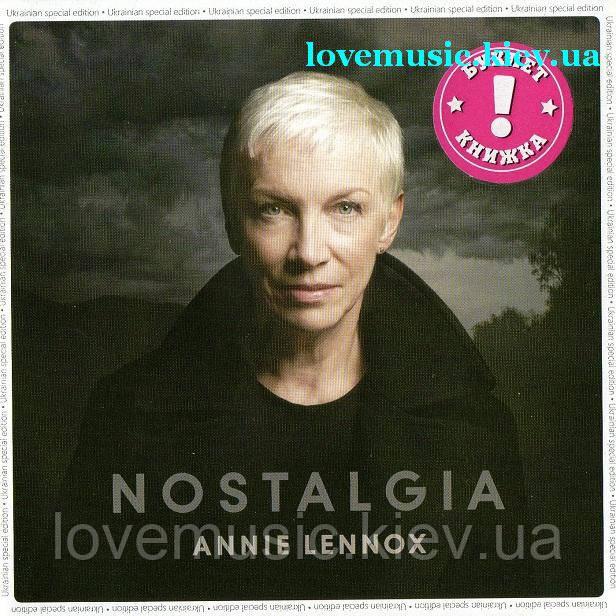Музичний сд диск ANNIE LENNOX Nostalgia (2014) (audio cd)