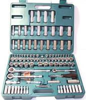 """Универсальный набор инструментов 1/4"""", 3/8"""", 1/2"""" мм и дюйм, 107 пр."""
