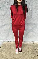 Женский спортивный костюм NIKE,бордо