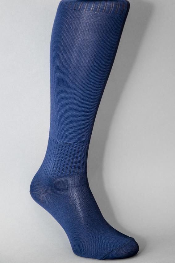 Гетры футбольные темно-синие однотонные, фото 1