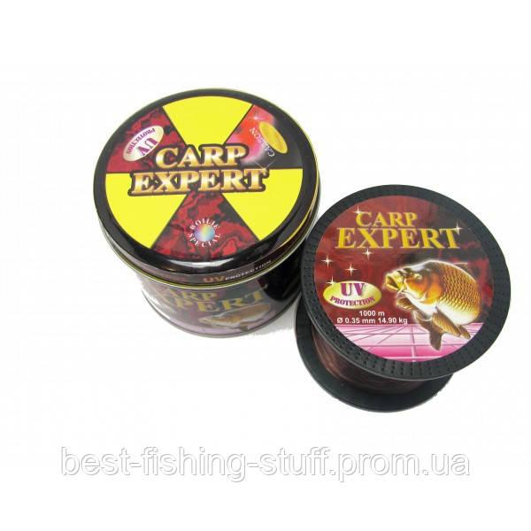 Леска Carp Expert Energofish 1000м РАДУГА 0.35мм